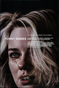 """Funny Games (Warner Independent, 2007). One Sheets (2) (24"""" X 36"""", 27"""" X 41""""). Crime. ... (Total: 2..."""
