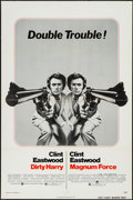 "Movie Posters:Crime, Dirty Harry/Magnum Force Combo (Warner Brothers, R-1975). One Sheet (27"" X 41""). Crime.. ..."