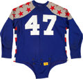 Football Collectibles:Uniforms, 1953 Donn Moomaw Game Worn College All-Star Jersey. ...