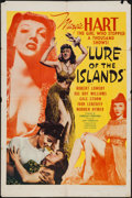 "Movie Posters:Adventure, Lure of the Islands & Other Lot (Monogram, 1942). One Sheets(2) (27"" X 41""). Adventure.. ... (Total: 2 Items)"