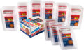 Basketball Cards:Unopened Packs/Display Boxes, 1986 Fleer Basketball Wax Box With 36 PSA Graded Packs. ...