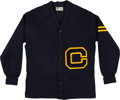 Football Collectibles:Uniforms, 1952 Donn Moomaw UCLA Letterman's Sweater. ...