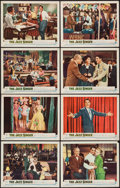 """Movie Posters:Musical, The Jazz Singer (Warner Brothers, 1953). Lobby Card Set of 8 (11"""" X14""""). Musical.. ... (Total: 8 Items)"""