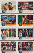 """Movie Posters:Adventure, King Richard and the Crusaders (Warner Brothers, 1954). Lobby CardSet of 8 (11"""" X 14""""). Adventure.. ... (Total: 8 Items)"""