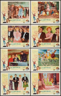 """Movie Posters:Musical, Let's Be Happy (Allied Artists, 1957). Lobby Card Set of 8 (11"""" X 14""""). Musical.. ... (Total: 8 Items)"""