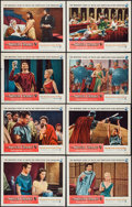 "Movie Posters:Drama, The Silver Chalice (Warner Brothers, 1955). Lobby Card Set of 8 (11"" X 14""). Drama.. ... (Total: 8 Items)"