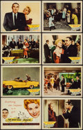 """Movie Posters:Comedy, The Solid Gold Cadillac (Columbia, 1956). Lobby Card Set of 8 (11"""" X 14""""). Comedy.. ... (Total: 8 Items)"""