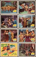 """Movie Posters:Musical, Something for the Boys (20th Century Fox, 1944). Lobby Card Set of 8 (11"""" X 14""""). Musical.. ... (Total: 8 Items)"""