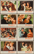 "Movie Posters:Academy Award Winners, Tom Jones (United Artists, 1963). Lobby Card Set of 8 (11"" X 14"").Academy Award Winners.. ... (Total: 8 Items)"