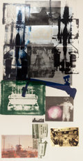 Post-War & Contemporary:Pop, ROBERT RAUSCHENBERG (American, 1925-2008). Hot Shot, 1983.Lithograph in colors with collage. 81 x 42 inches (205.7 x 10...