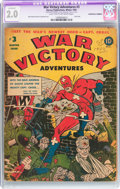 Golden Age (1938-1955):War, War Victory Adventures #3 (Harvey, 1943) CGC Apparent GD 2.0 Lighttan to off-white pages....