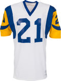 Football Collectibles:Uniforms, 1977-79 Nolan Cromwell Game Issued Los Angeles Rams Jersey....