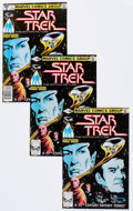 Modern Age (1980-Present):Science Fiction, Star Trek #1 Group (Marvel, 1980) Condition: Average FN/VF....(Total: 27 Comic Books)