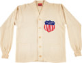 Football Collectibles:Uniforms, 1953 Donn Moomaw College All-Star Team Sweater. ...