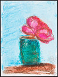 Mainstream Illustration, Gigi Rice. Doodle for Hunger. Crayon on paper. 12 x 9 in.....