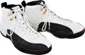 Basketball Collectibles:Others, 1996-97 Michael Jordan Game Worn Sneakers....