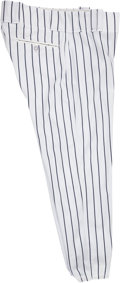 Baseball Collectibles:Uniforms, 2013 Ichiro Suzuki Game Issued New York Yankees Pants....