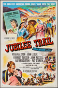 "Movie Posters:Western, Jubilee Trail & Others Lot (Republic, 1954). One Sheets (3)(27"" X 41"") Flat Folded. Western.. ... (Total: 3 Items)"