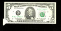 Error Notes:Foldovers, Fr. 1985-G $5 1995 Federal Reserve Note. Very Fine-Extremely Fine.....