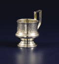 Silver Holloware, Continental:Holloware, A Russian Silver Cup. Unidentified maker, Moscow, Russia. 1894.Silver. Marks: (Moscow), 84, CB (in Cyrillic),P...