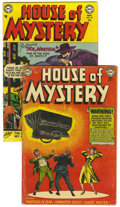 Golden Age (1938-1955):Horror, House of Mystery #9 and 20 Group (DC, 1952-53).... (Total: 2 ComicBooks)