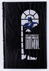 The Complete Frank Miller Batman Hardcover Leather Bound First Edition (DC, 1989) Condition: NM-