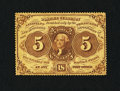 Fractional Currency:First Issue, Fr. 1229 5¢ First Issue Very Fine.. ...