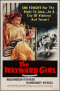 "Movie Posters:Bad Girl, The Wayward Girl (Republic, 1957). One Sheet (27"" X 41"") FlatFolded. Bad Girl.. ..."