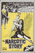 """Movie Posters:Exploitation, The Narcotic Story (Jolf, 1958). One Sheet (27"""" X 41"""").Exploitation.. ..."""