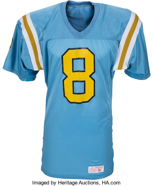 the best attitude 227df a2027 1987-88 Troy Aikman Game Worn UCLA Bruins Jersey, MEARS A9 ...