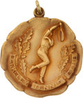 Miscellaneous Collectibles:General, 1922 Helen Wills Berkeley Club Championship Gold Medal....
