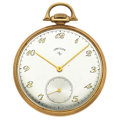 Timepieces:Pocket (post 1900), Lord Elgin 21 Jewels 14k Gold Pocket Watch. ...