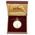 Timepieces:Pocket (post 1900), Lord Elgin 14k Gold 21 Jewel Pocket Watch. ...