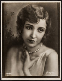 "Bessie Love (1920s). Trimmed Linen-Backed Portrait Photo (7.5"" X 9.75""). Miscellaneous"