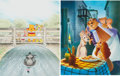 Animation Art:Poster, Winnie the Pooh/Lady and the Tramp Limited Edition PrintGroup (undated, 1990s).... (Total: 2 Items)