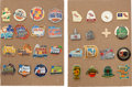 Basketball Collectibles:Others, 1977-2012 NCAA Basketball Final Four Press Pins Lot of 32....