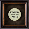 Political:Pinback Buttons (1896-present), John F. Kennedy: One of the Top Varieties of Pinback Button....
