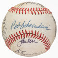 Autographs:Baseballs, 1980 St. Louis Cardinals Team Signed Baseball....