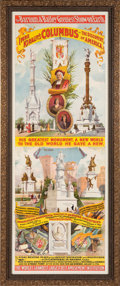 Entertainment Collectibles:Circus, Imposing Barnum & Bailey Poster....