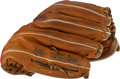 Baseball Collectibles:Others, Circa 1985 Steve Carlton Game Used Fielder's Glove....