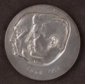 Political, JFK and Conrad Adenauer: A Rare Medal Celebrating Kennedy's Historic Visit to West Berlin....