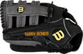 Baseball Collectibles:Others, Circa 2008 Barry Bonds Issued Fielder's Glove. ...
