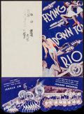 "Movie Posters:Musical, Flying Down to Rio (RKO, 1933). Herald (4.25"" X 8"") DS. Musical.. ..."