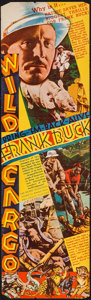 """Movie Posters:Documentary, Wild Cargo (RKO, 1934). Herald (4 Pages, 5.5"""" X 9.25""""). Documentary.. ..."""