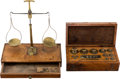 Miscellaneous:Ephemera, Boxed Balance Scale and Boxed Set of Weights....