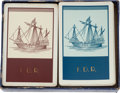 Political:Presidential Relics, Franklin D. Roosevelt: Two Complete Decks of his Personal Playing Cards....