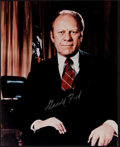 Miscellaneous Collectibles:General, Gerald Ford Signed Photograph....