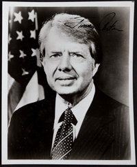 Jimmy Carter Signed Photograph