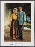 Miscellaneous Collectibles:General, Richard Nixon Signed Photograph....