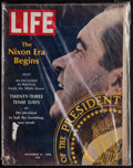 """Miscellaneous Collectibles:General, Richard Nixon Twice Signed """"LIFE"""" Magazine...."""